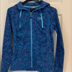 The North Face Hooded Fleece Zip up